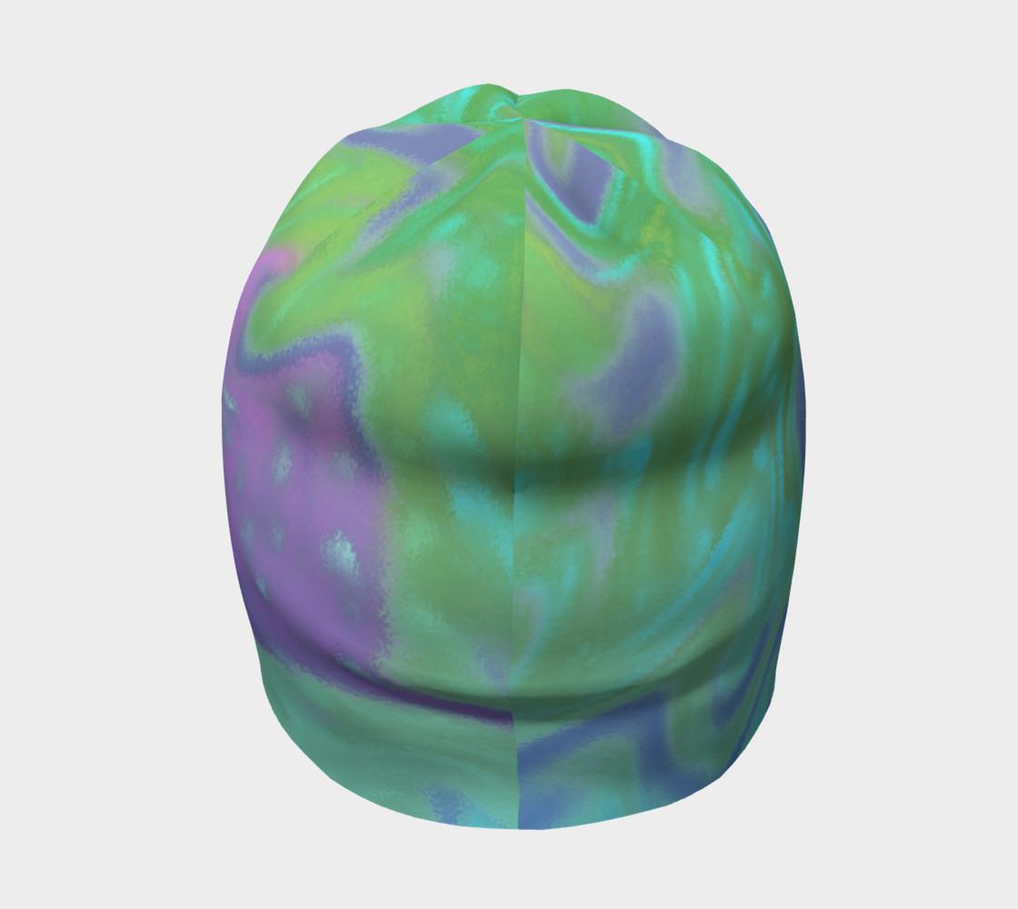 Blue Green Splatter Abstract Design preview #4