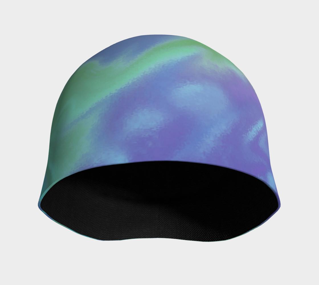 Blue Green Splatter Abstract Design preview #3