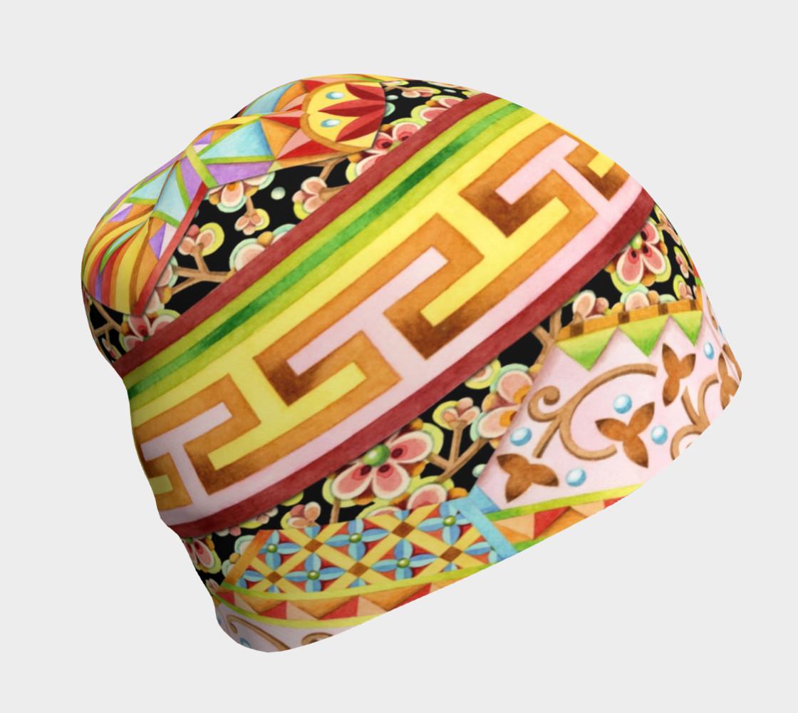 Aperçu de Gypsy Caravan Patchwork Stripe #1