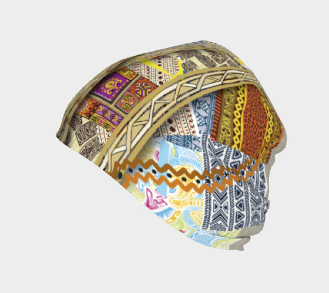 BORDER 3D Headscarf   108-1 preview #2