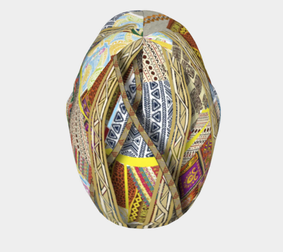 BORDER 3D Headscarf   108-1 preview #5