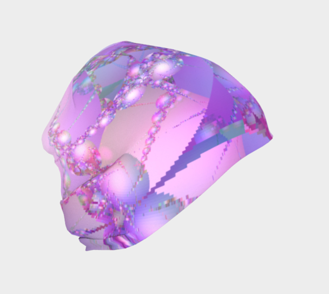 Spring Color Bubble Fractal Beanie preview #1