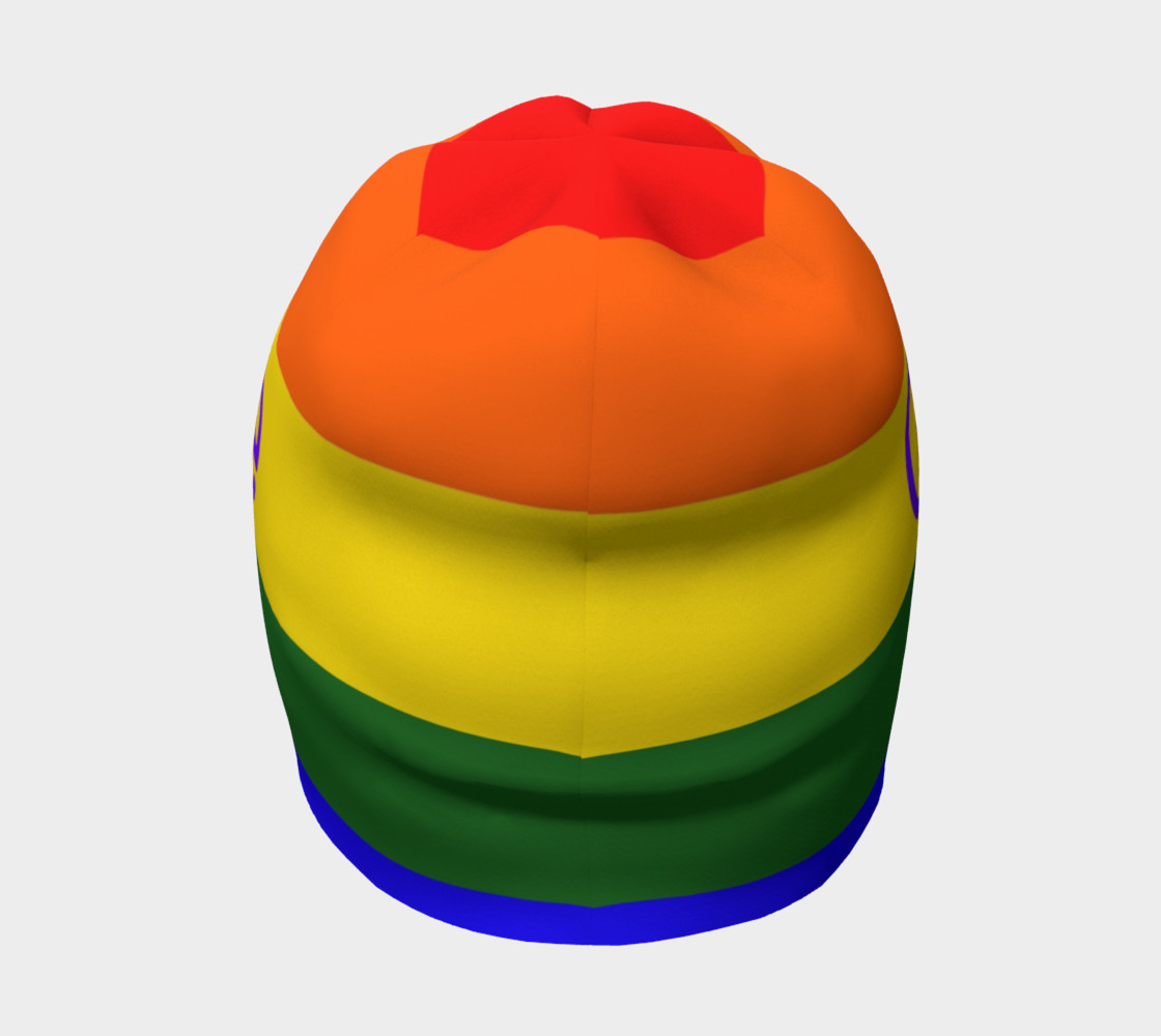 Gay Pride Love Beanie preview #4