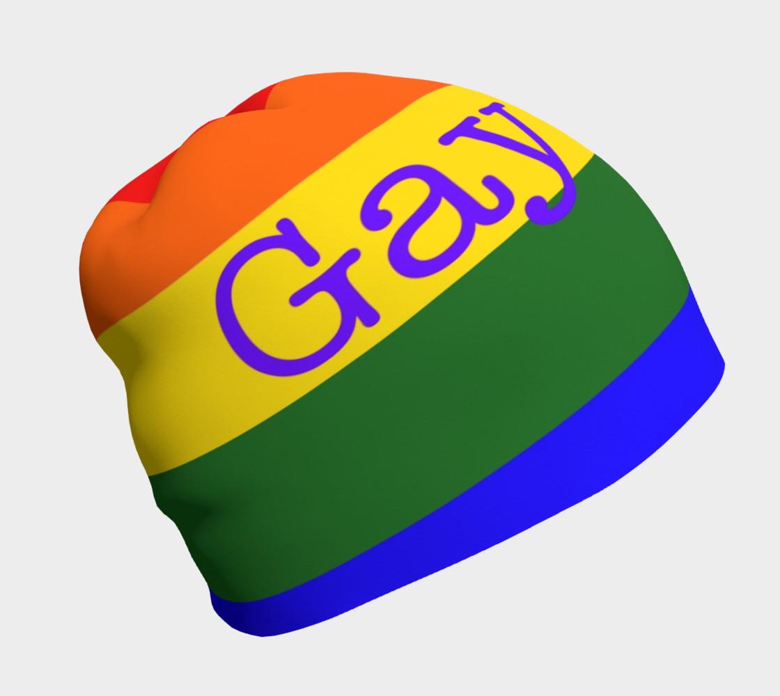 Gay Pride Love Beanie preview #1