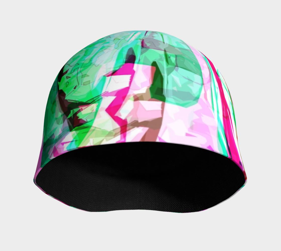 Aperçu de Abstract Absinthe & Pink #3