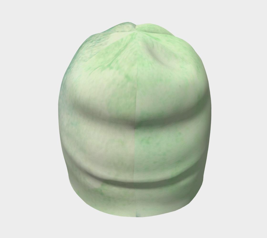 Green Dimension Flower Beanie preview #4