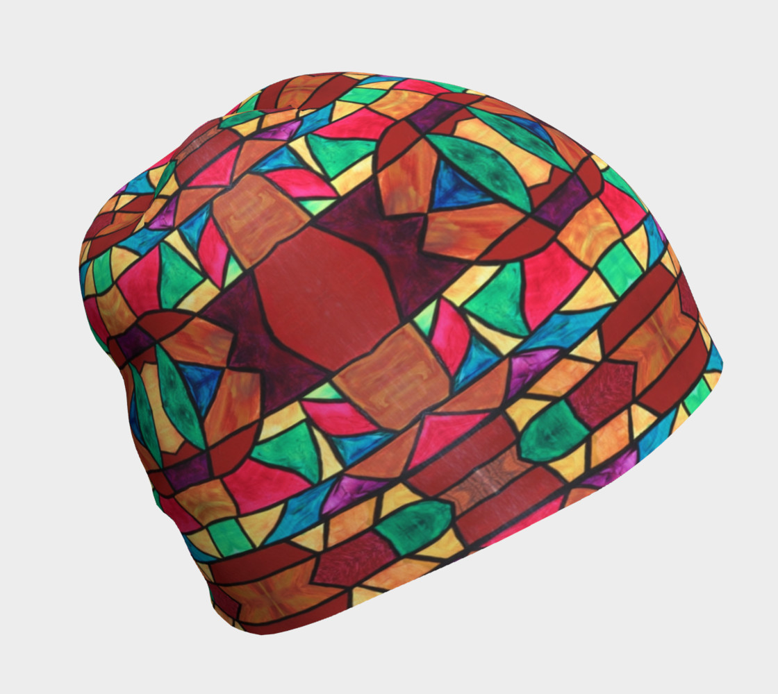 Penobscot Stained Glass Beanie preview #1