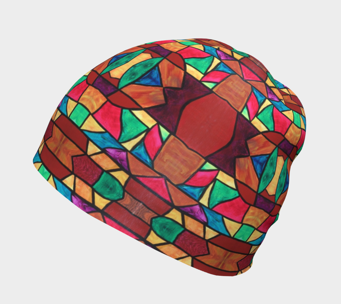 Penobscot Stained Glass Beanie preview #2