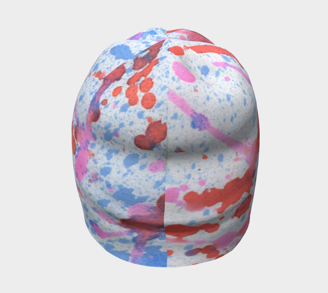 spatter beanie preview #4