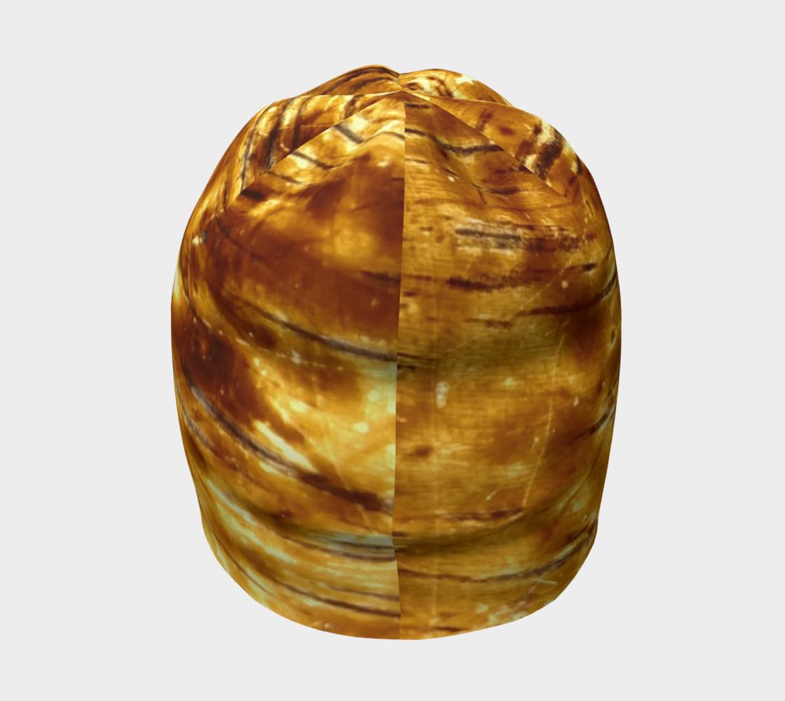 Golden Flex Wood Grain Beanie preview #4