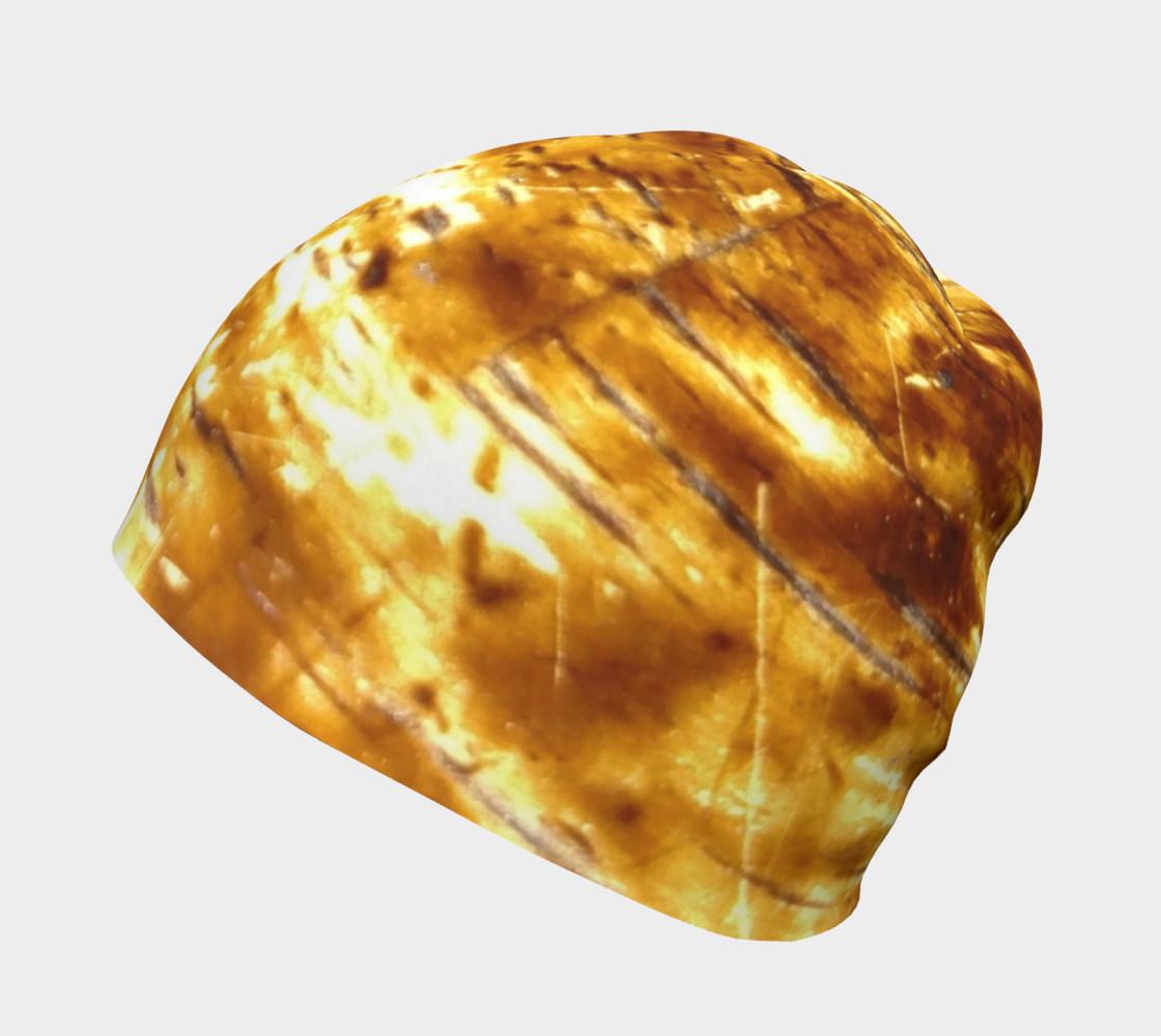 Golden Flex Wood Grain Beanie preview #2