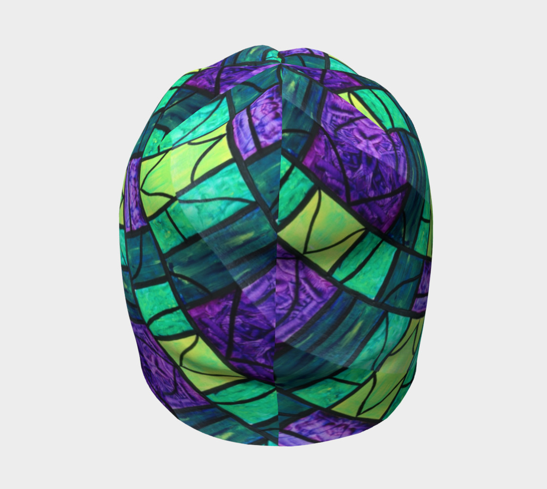 Nouveau Garden Stained Glass Beanie II preview #4