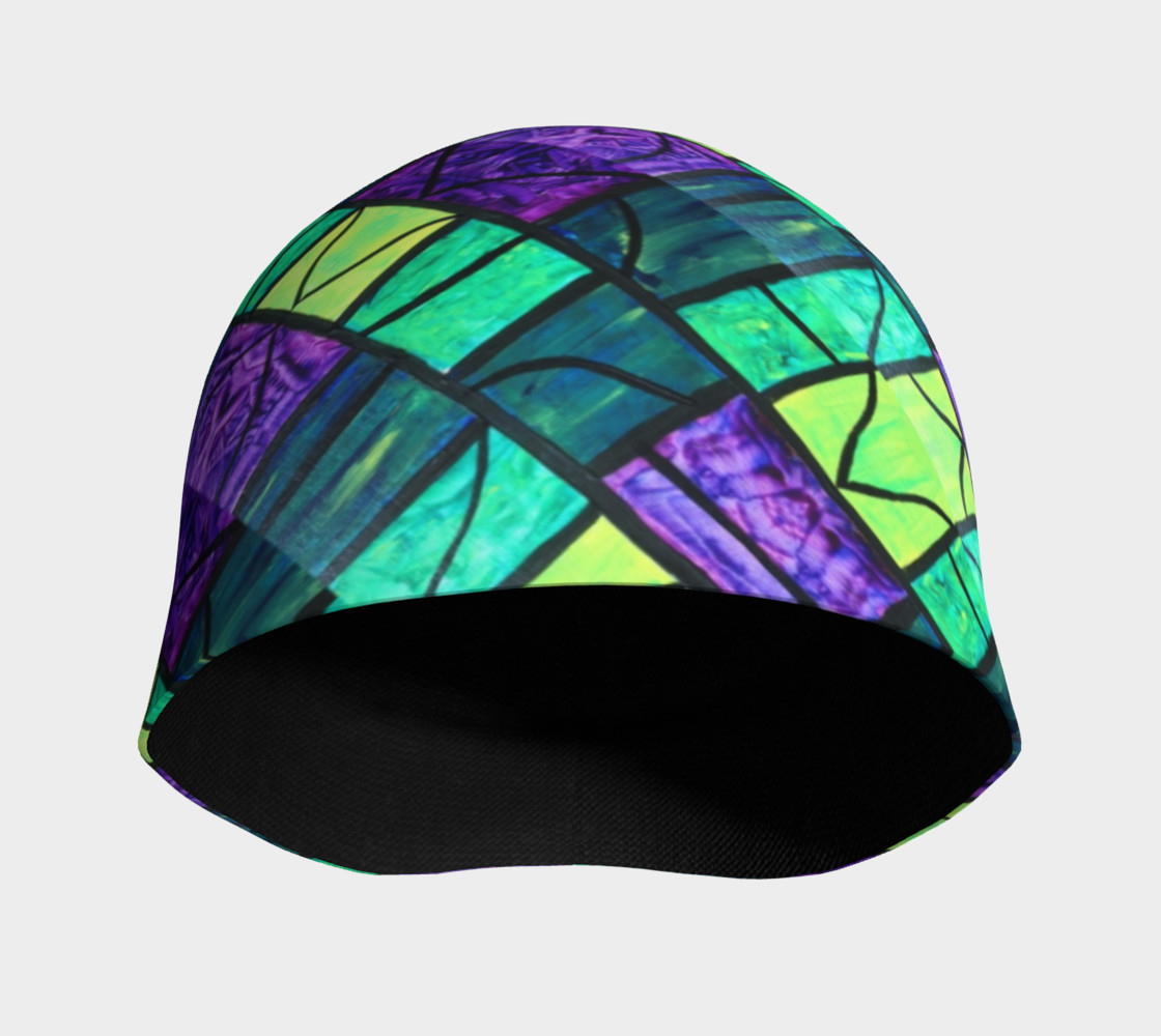 Nouveau Garden Stained Glass Beanie II preview #3