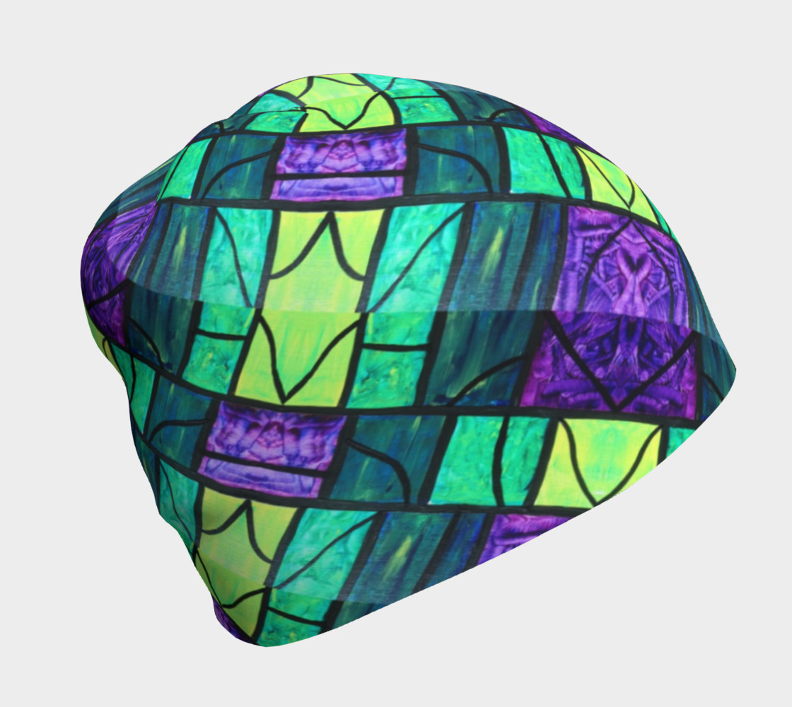Nouveau Garden Stained Glass Beanie II preview #1