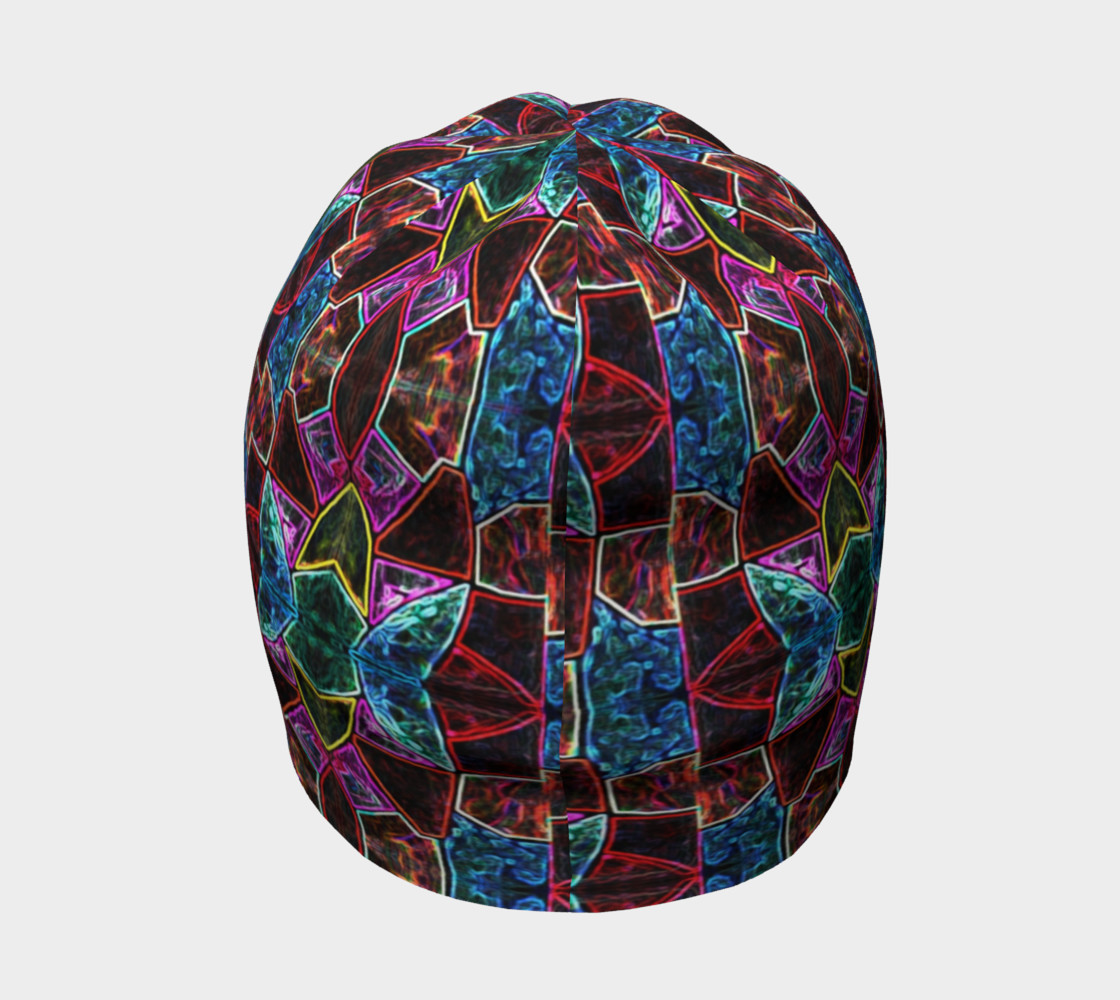 Corinthian Rose Stained Glass Beanie Miniature #5