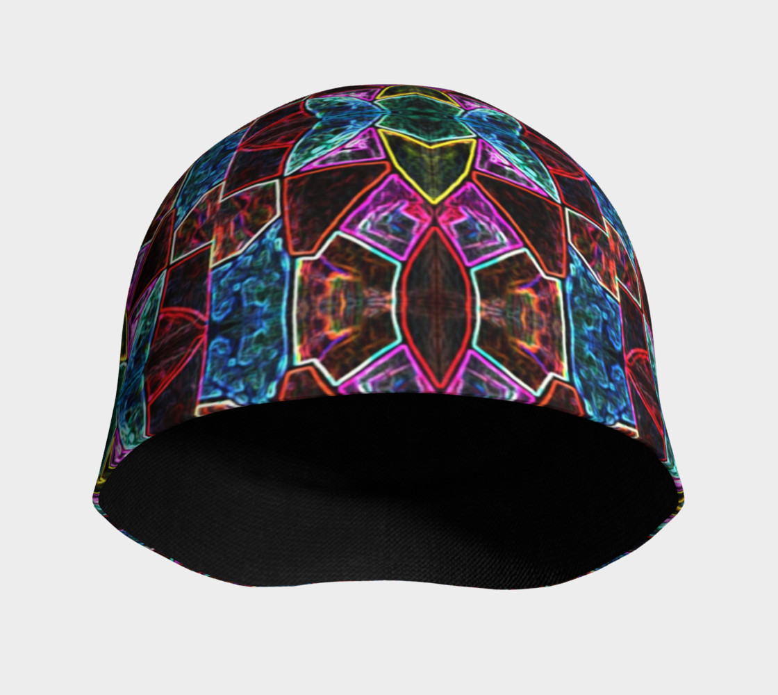 Corinthian Rose Stained Glass Beanie Miniature #4