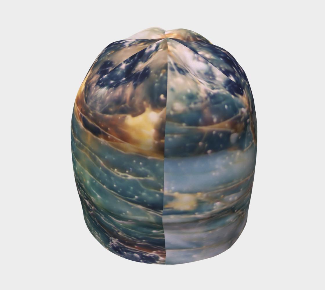 Aperçu de Slate Blue Jewel Tone Marble Pattern #4