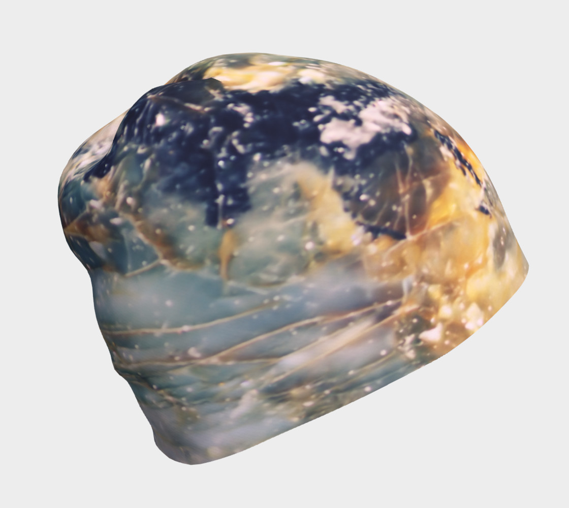 Aperçu de Slate Blue Jewel Tone Marble Pattern #1