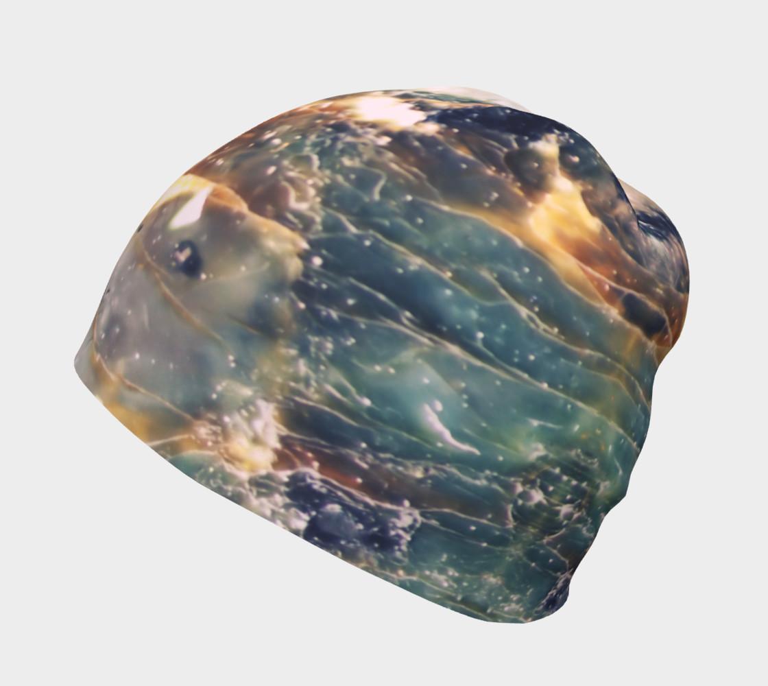 Aperçu de Slate Blue Jewel Tone Marble Pattern #2