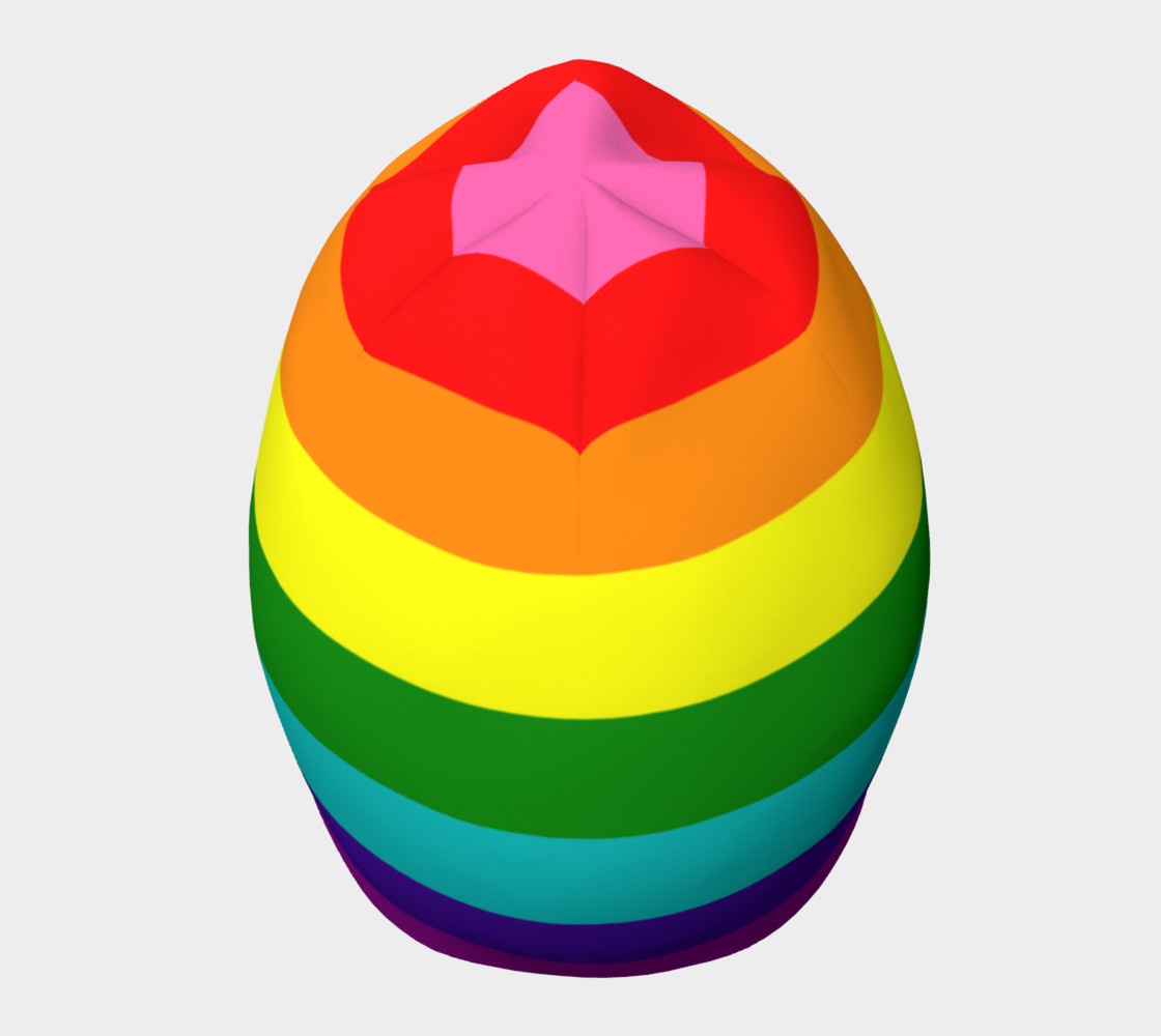 Rainbow Flag Original 8 Stripes Pattern LGBT Pride preview #5