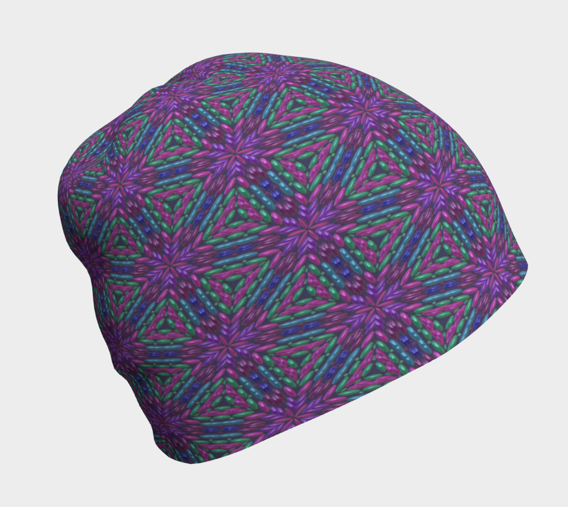 Purple Beads Beanie preview #1