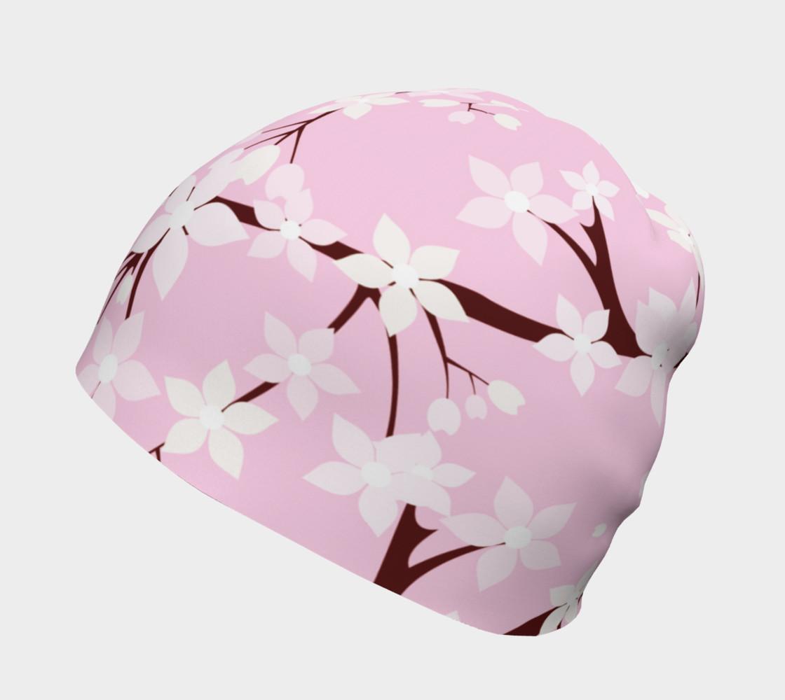 Aperçu de Cherry Blossom Time Beanie  #2