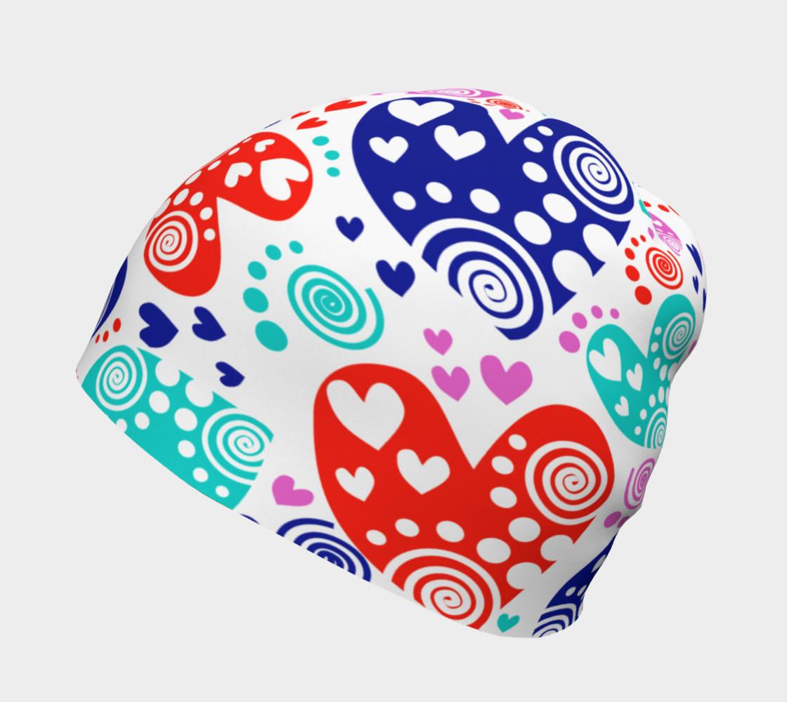 Aperçu de Hearts Within Hearts Beanie #2