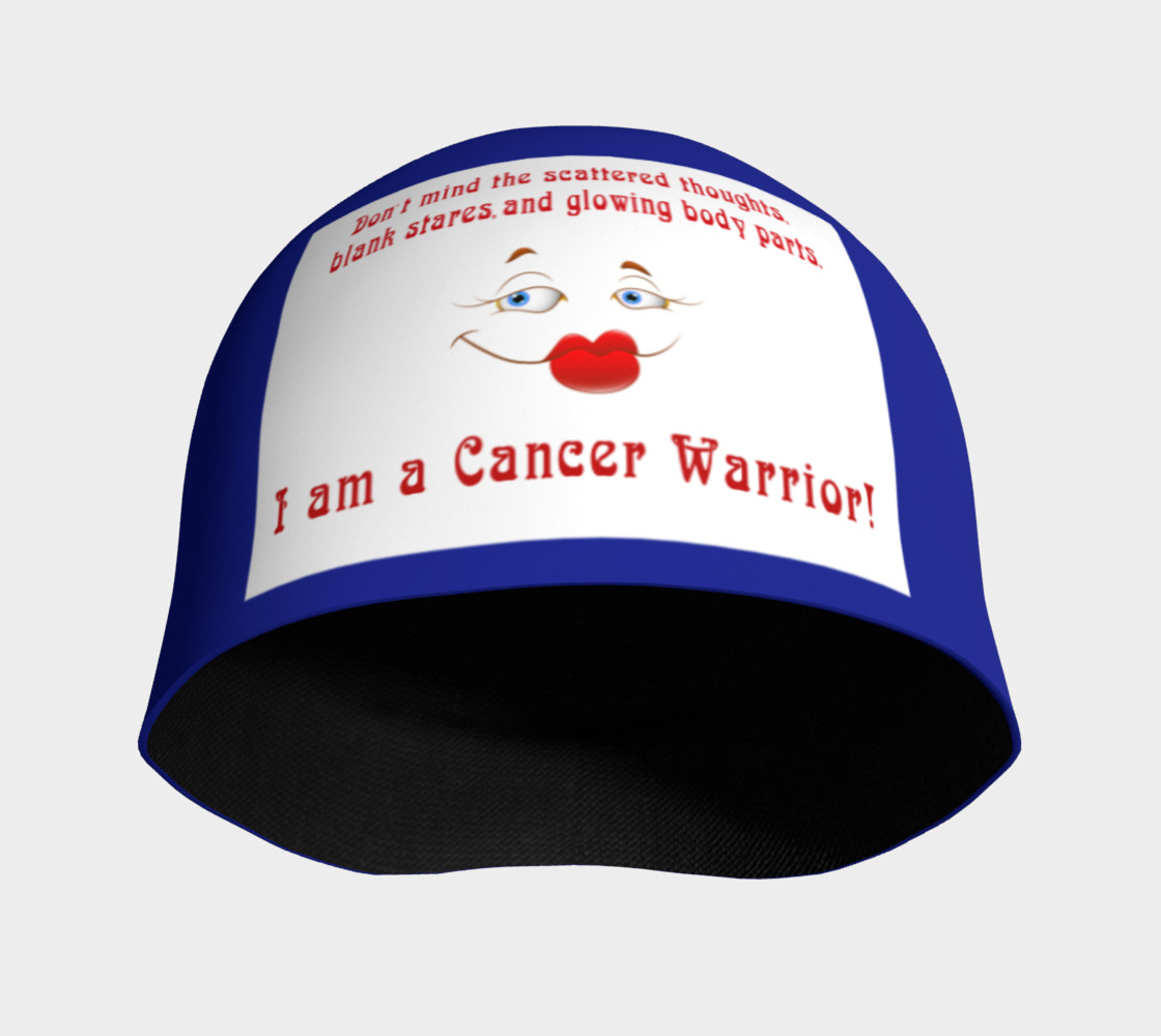 Aperçu de I Am A Cancer Warrior Beanie #3