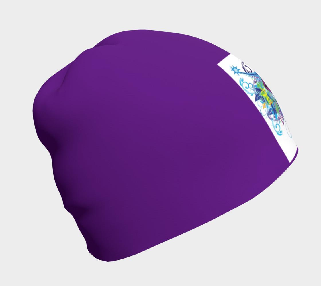 Purple Smile Beanie preview #1