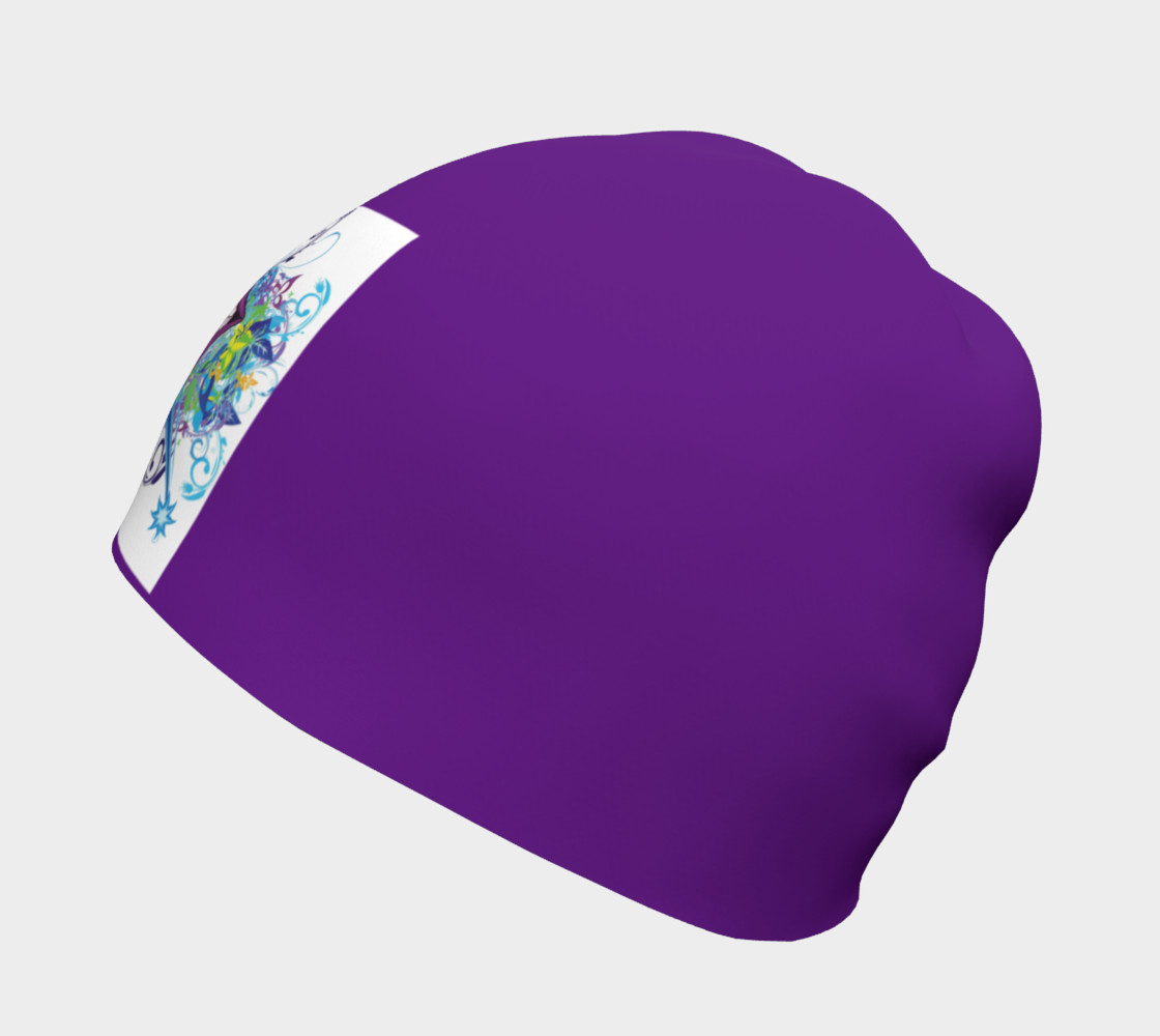 Purple Smile Beanie preview #2