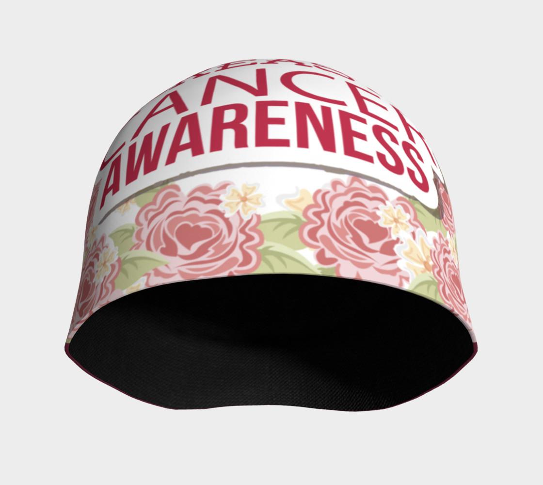 Aperçu de Breast Cancer Awareness Roses Beanie #3