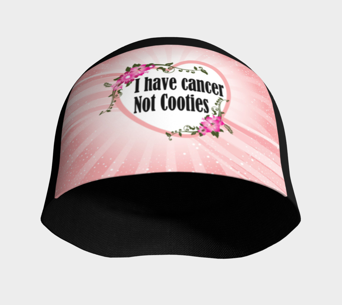 Aperçu de I Have Cancer Not Cooties Beanie #3