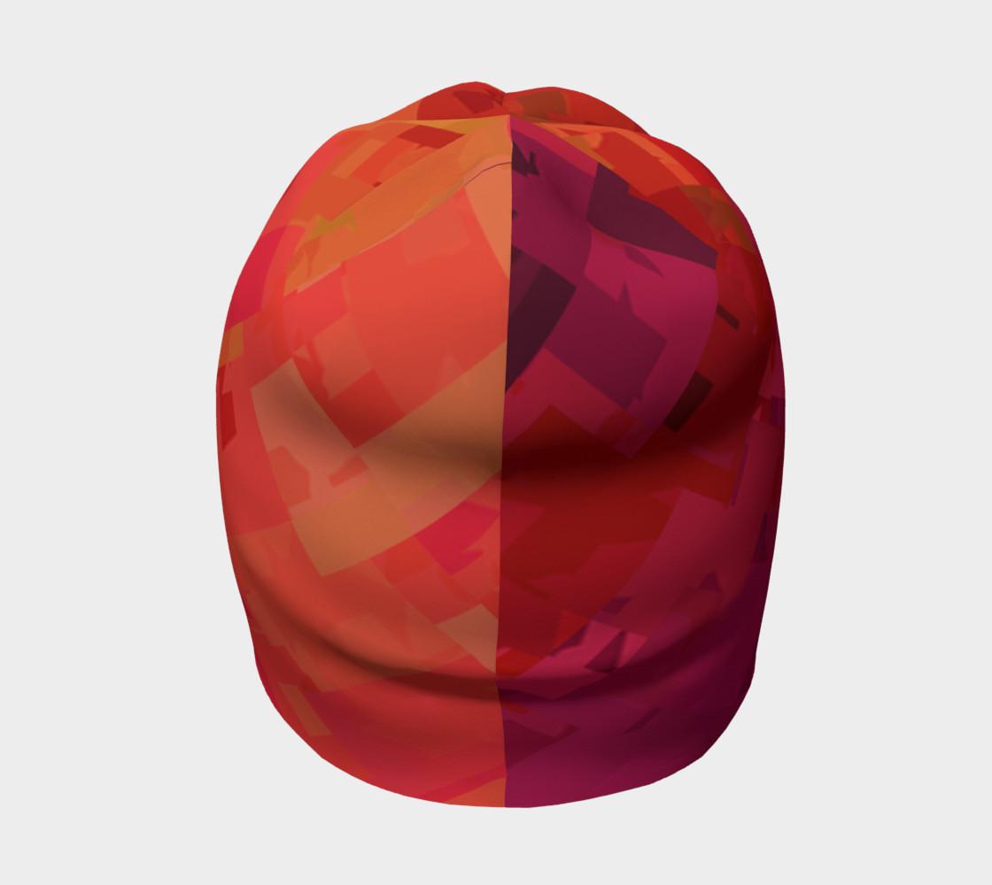 Purple & Orange beanie preview #4