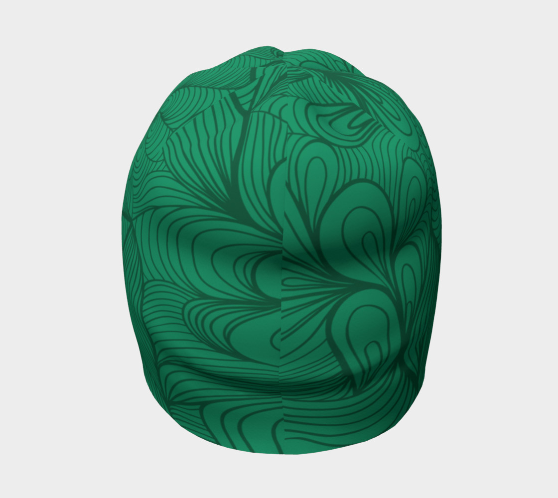 Green String Theory Beanie preview #4