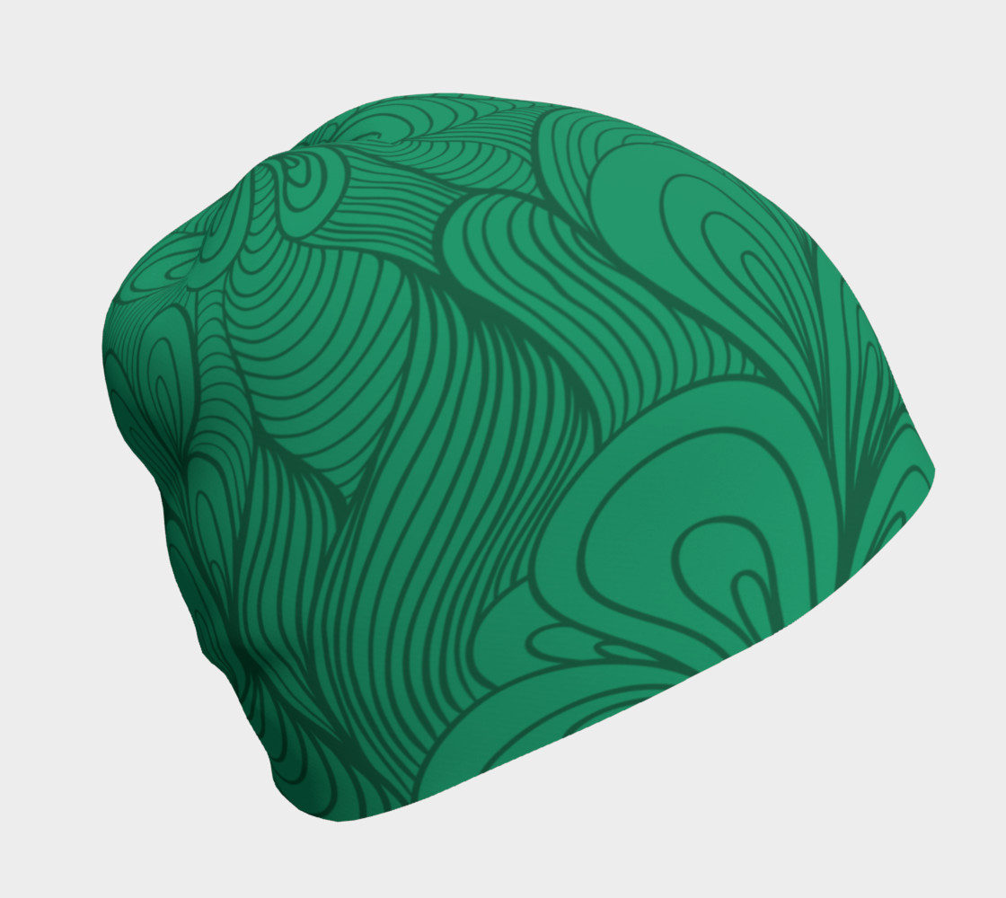 Green String Theory Beanie preview #1