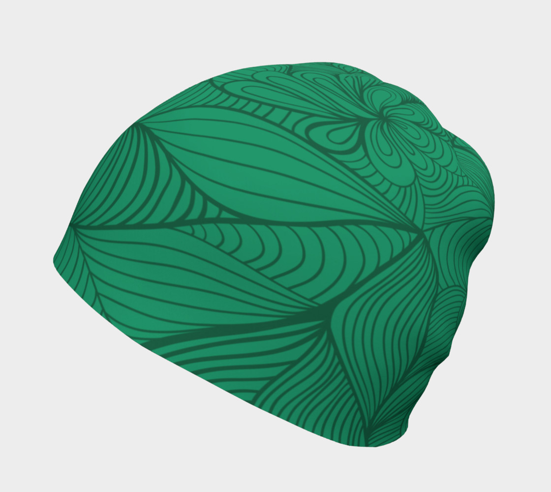 Green String Theory Beanie preview #2