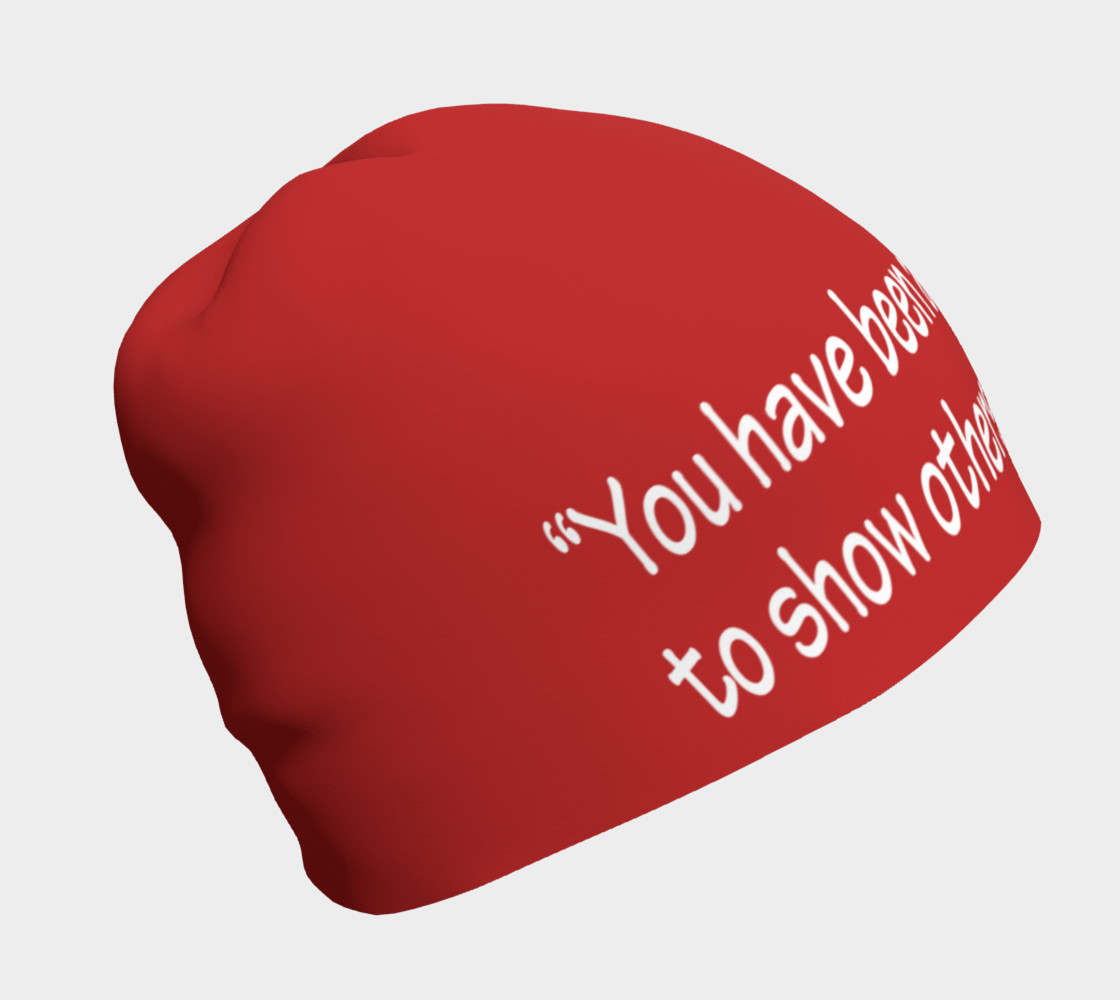 Aperçu de You Have Been Assigned This Mountain Beanie #1