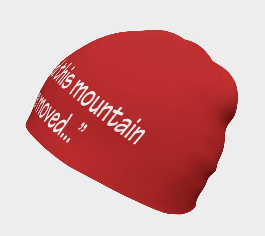 Aperçu de You Have Been Assigned This Mountain Beanie #2