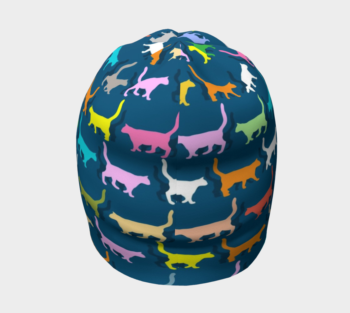 Colorful Cats Beanie preview #4