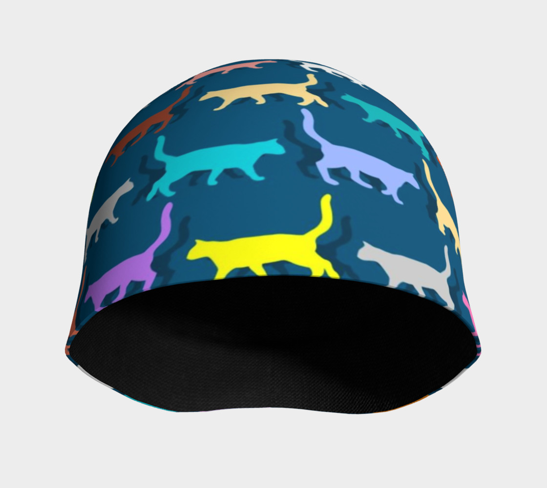 Colorful Cats Beanie preview #3