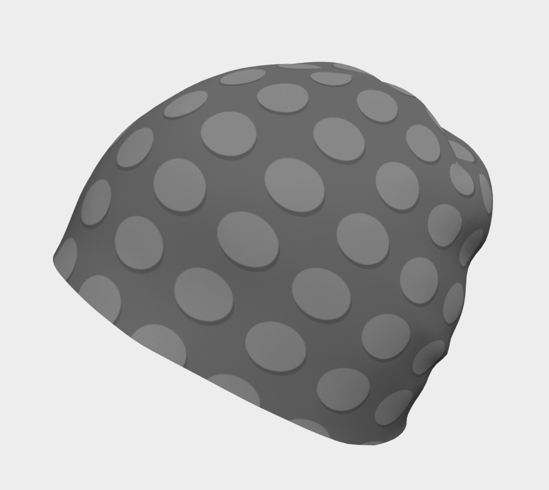 Aperçu de Gray Building Blocks Beanie #2