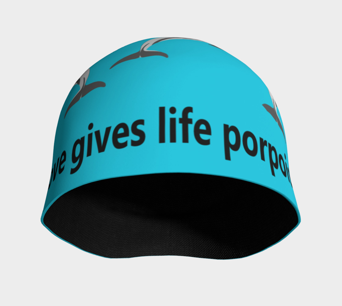 Love Gives Life Porpoise Beanie Miniature #4