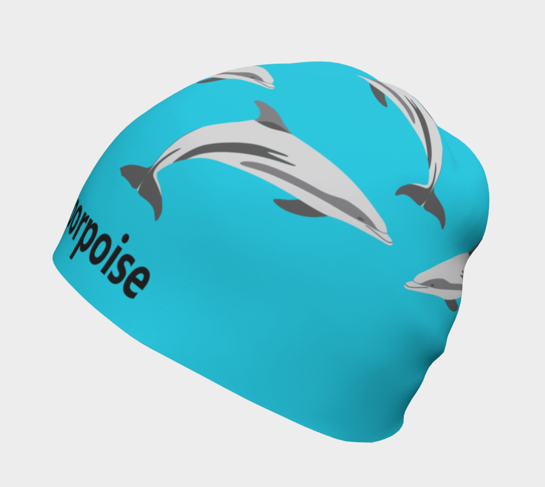 Love Gives Life Porpoise Beanie Miniature #3