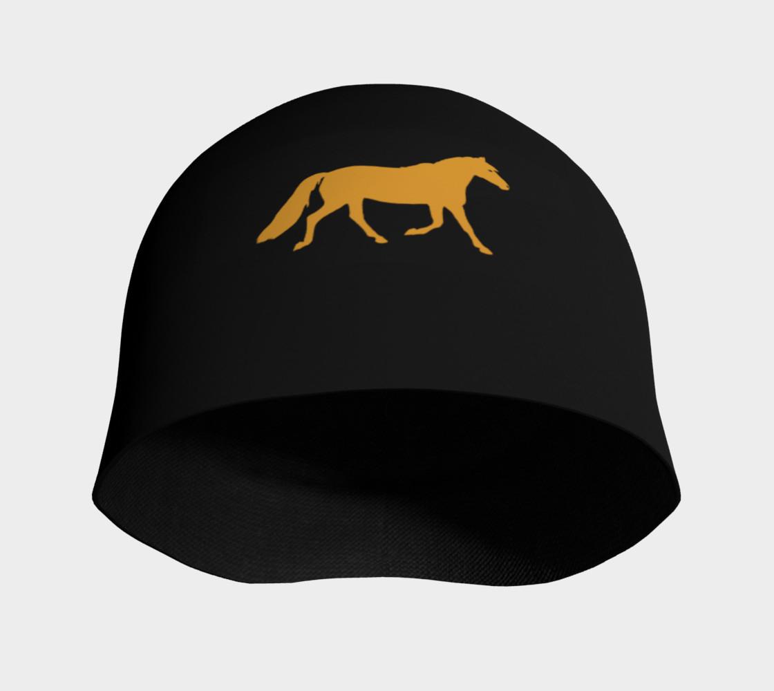 Aperçu de gold pony small on black #3