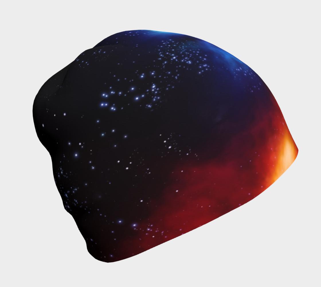 Aperçu de Deep Space Nebula Beanie by GearX #1