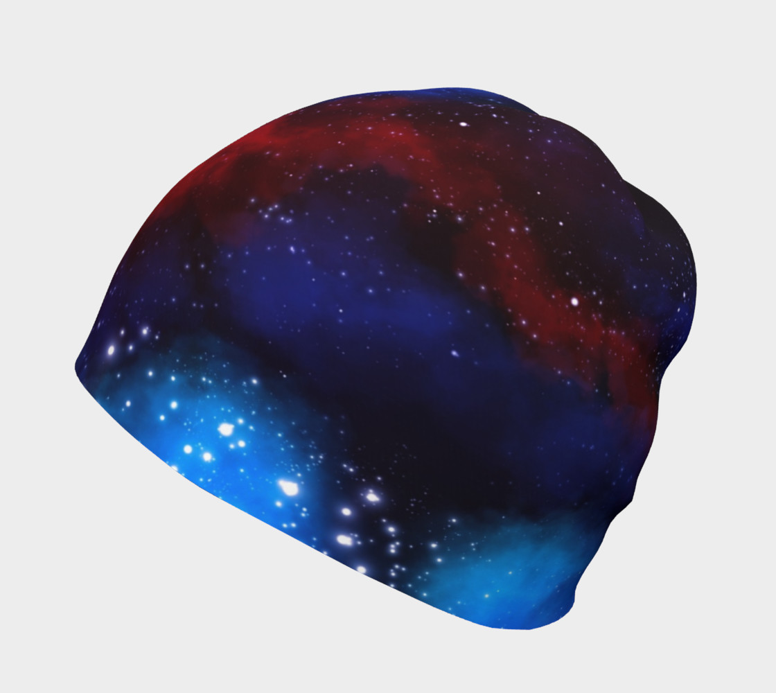 Deep Space Nebula Beanie by GearX preview #2