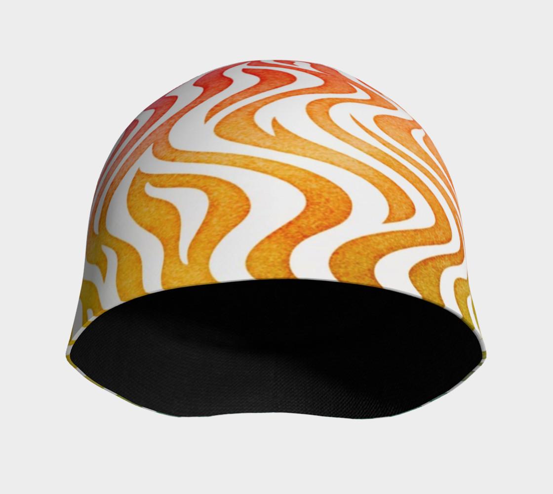 Aperçu de Rainbow Zebra Beanie Hat #3