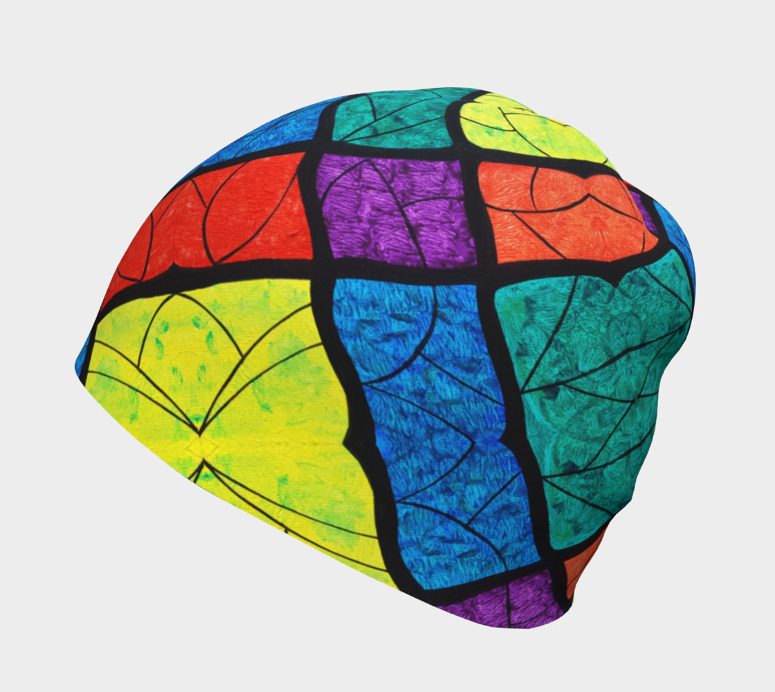 Nouveau Stained Glass II Beanie II preview #2