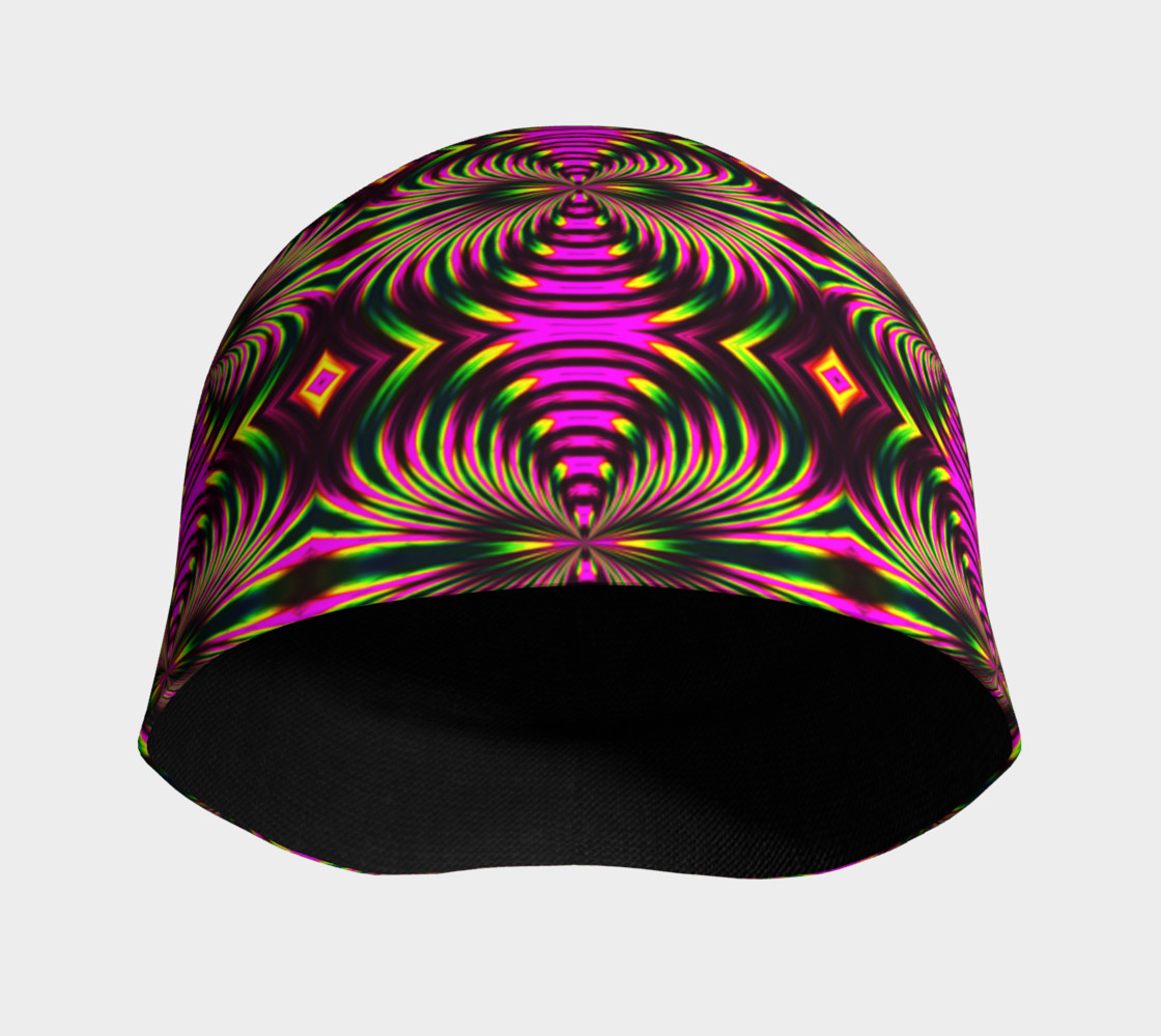 Psychedelic Flamingo Beanie preview #3