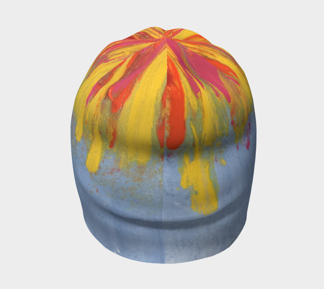 Blue Paint Hat $29 preview #4